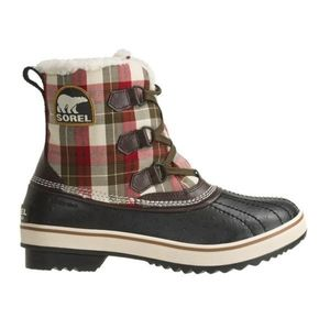 Sorel Tivoli Shirt Plaid lace up boots